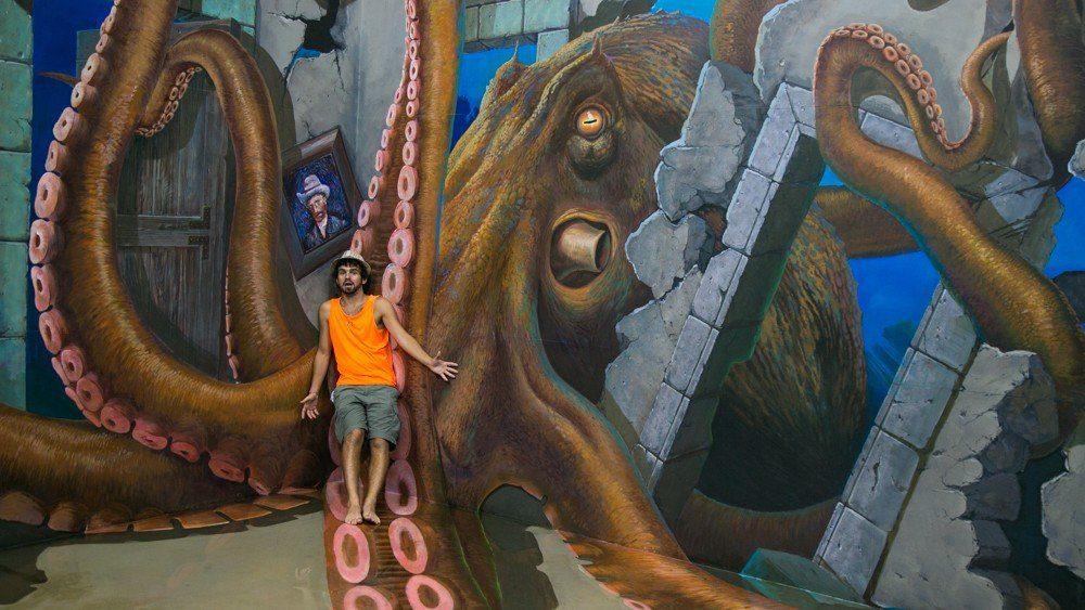 Octupus - Art in Island in Manila, Philippines