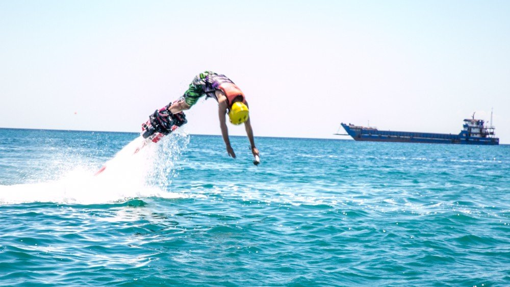 Fly with Flyboard, Hoverboard, and Flybike in Boracay | Seek