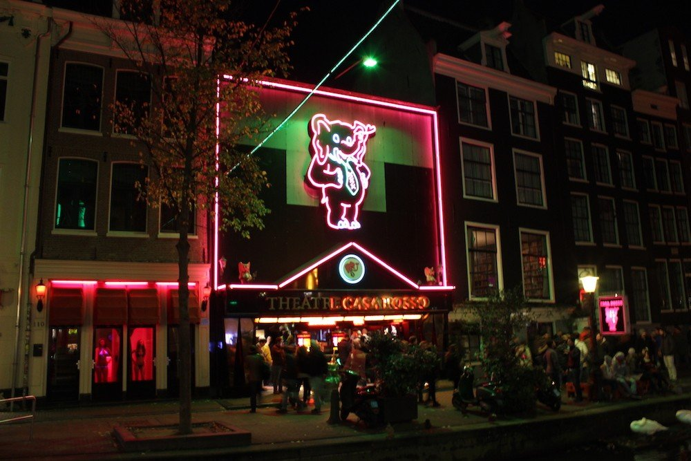 Live sex shows in amsterdam