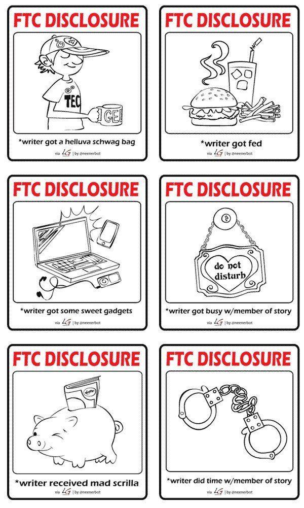 FTC Disclosures