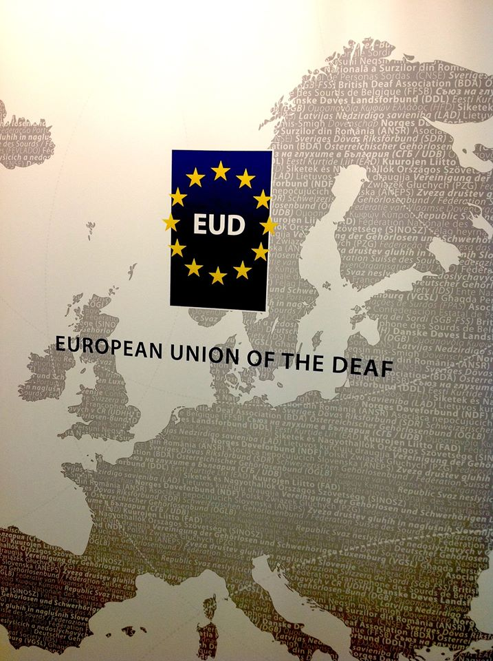 Photo Courtesy: European Union of the Deaf