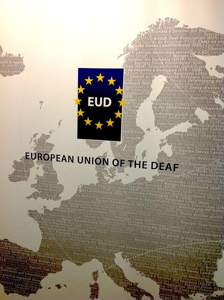 Photo Courtesy: European Union of the Deaf