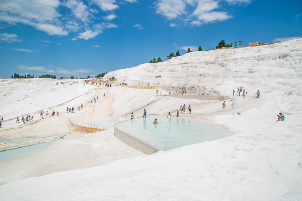 Dipping in Pamukkale, Turkey's Most Incredible Hot Springs
