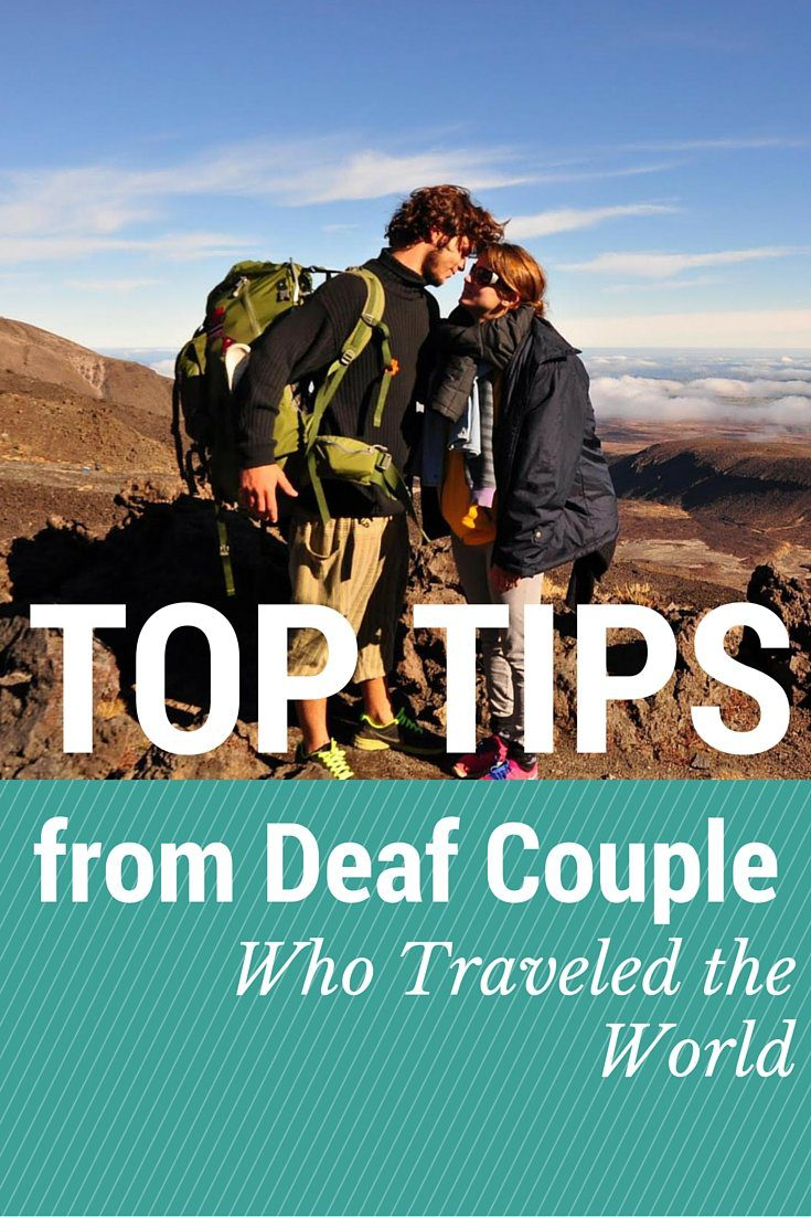 Top Tips from Deaf Couple Who Traveled the World